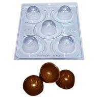 Forma de Chocolate Acetato com Silicone Trufa Pequena Especial - BWB
