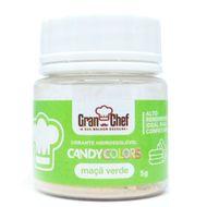 Corante Hidrossolúvel em Pó Candy Colors (5g) Maçã Verde - Gran Chef