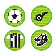 Adesivos Futebol (20un) - Miss CupCake