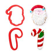 Kit Cortadores Papai Noel (2pcs) - Decora