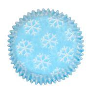 Forminha para Cupcake Mago (45uni) - Flocos de Neve