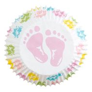 Baby Feet Standard Baking Cups - Wilton