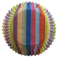 Forminha para Cupcake Mago (45uni) - Arco-íres