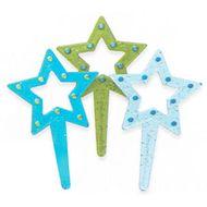 Enfeite Estrelas (6uni)
