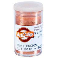 Pó Brilhante para Acabamento ArtCake - Bronze