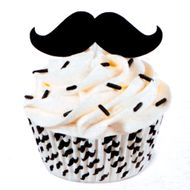 Kit para Decorar Cupcakes Bigode - Wilton