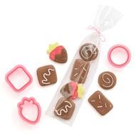 Kit de Cortadores Mini Chocolates (17pcs) - Sweet Sugarbelle
