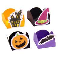 Forminha 4 Pétalas Halloween 2014 (24uni) - Papel Confeito