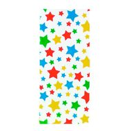 Saquinho Decorado Colorful Stars Party Bags - Wilton