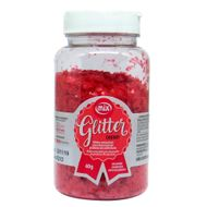 Glitter Comestível em Flocos Vermelho (40g) - Mix