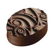Placa de Textura para Chocolate e Bolo (40 x 30cm) - Floral