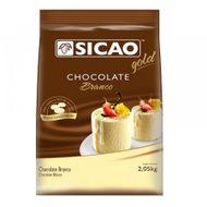 Chocolate Sicao Gold Branco Gotas (2,05kg) - Sicao