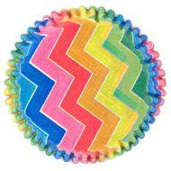 Forminha para Mini Cupcake Mago (45uni) - Chevron