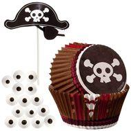 Pirate Cupcake Decorating Kit - Wilton