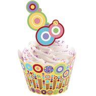 Sweet Dots Cupcake Wraps'n Pix - Wilton