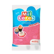 Confeito Miçanga Mil Cores n°0 (500g) - Rosa