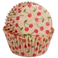 Forminha de Papel para Cupcake Unbleached Cherry - Wilton