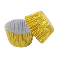 Forminha de Brigadeiro Ouro Metalizada nº 4 (50uni) - Polipel