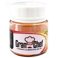 Corante Hidrossolúvel em Pó (5g) Amarelo - Gran Chef