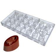 Molde para Chocolate em Policarbonato - Moderno