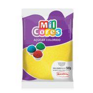 Açúcar Amarelo para Decoração (500g) - Mil Cores