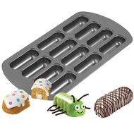 12 Cavity Delectovals Mini Cake Pan - Wilton
