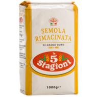 Farinha de Semola Grano Duro (1kg) - le 5 Stagioni