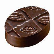 Placa de Textura para Chocolate e Bolo (40 x 30cm) - Folhas