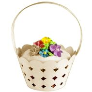 White Basket Cupcake Wraps - Wilton