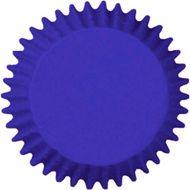 Forminha para Mini Cupcake Mago (45uni) - Azul Royal