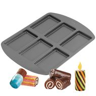 6 Cavity Coil Cakes Mini Cake Pan - Wilton