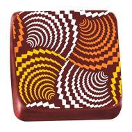 Transfer para Chocolate (40 x 30cm) - Espirais