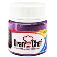 Corante Lipossolúvel em Pó para Chocolate Roxo (5g) - Gran Chef