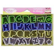 Kit Cortadores em Plástico - Alfabeto