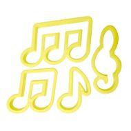 Kit Cortadores Notas Musicais - BlueStar