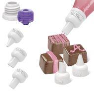 Bicos Candy Melts Decorating Tip Set - Wilton