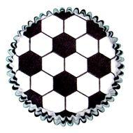 Forminha para Cupcake Mago (45uni) - Bola de Futebol