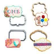 Kit Cortadores Mini Frames (4pcs) - Decora