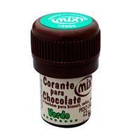 Corante para Chocolate Mix - Verde