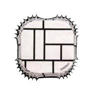 Black and White Block Square Baking Cups - Wilton
