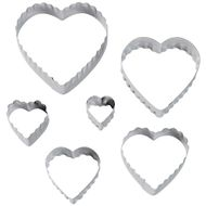Heart Fondant Double Cut-Outs Set - Wilton