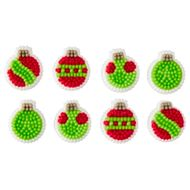 Confeito em Açúcar Bolas de Natal (24uni) - Wilton