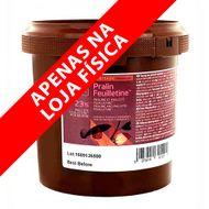 Recheio Pralin Feuilletine Avelã e Amêndoa (1kg) - Cacao Barry