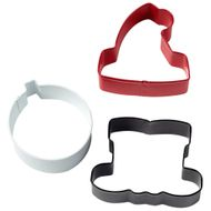 Santa Claus Cookie Cutter Set - Wilton