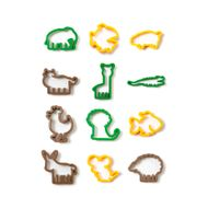 Kit Cortadores de Animais (12pcs) - Decora