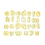 Conjunto Cortadores Letras 1  Minúsculas - BlueStar