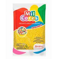 Granulado Crocante Amarelo 500g - Mil Cores