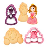 Kit Cortadores Carruagem e Princesa (2pcs) - Decora