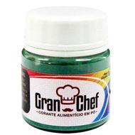 Corante Lipossolúvel em Pó para Chocolate Verde (5g) - Gran Chef