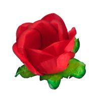 Forminha Flor para Doces (40 uni) - Vermelho